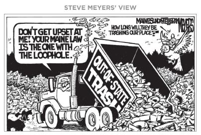 Cartoon by Steve Meyers